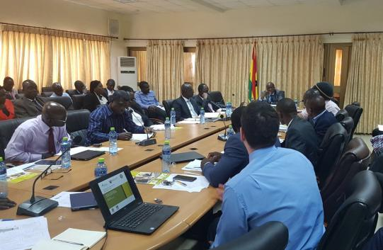 Ghanaian officials meet with IFS researchers